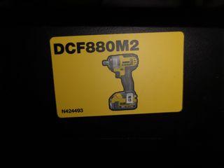 Dewalt  DCF 880 M2. 2 τεμ μπατ. 4ah. 1/2  205nm