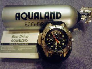 Citizen promaster aqualand  eco drive