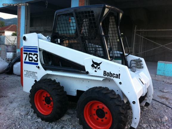 Bobcat '02 763 G