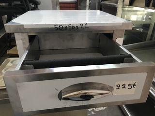 Συρταριέρα του Καφέ Μονή. Stock. Ποιότητα & Τιμή StockInox.