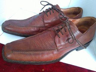 ITALIKA TRIA ZEYGARIA.... Vero Cuoio Italian Shoes -,,,,,45 NO,,,,,, SE KAFE SKOYRO KAI TA MOTAKIA  MAYRO 45 NO KAI KAFES SKOYRO MPOTAKI ,,45 NO
