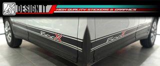 FIAT 500 X - ΑΥΤΟΚΟΛΛΗΤΑ ΓΙΑ ΤΑ ΠΛΑΪΝΑ