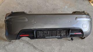 Πίσω προφυλακτήρας με parktronic, διαχύτη και καλωδίωση από Peugot 407 4θυρο 2005-2010 (SDN). Κομπλέ σε άψογη κατάσταση.