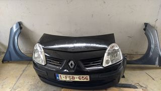 Μουράκι χωρίς ψυγεία από Renault Modus 2004-2008. Δίνονται τμηματικά, ανάλογα τη ζημιά, με επιλογή χρωματισμών.
