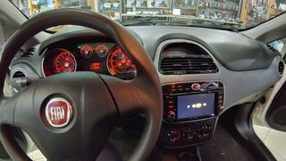 Fiat Punto Evo οθονη Android 9 Digital iq και καμερα DOUSISSOUND