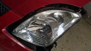Καπό, αριστερό φανάρι και μετώπη χωρίς μπροστινές τραβέρσες από Suzuki Swift 2005-2012 (70€ καπό, 40€ φανάρι, 80 μετώπη)-thumb-1