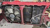 Καπό, αριστερό φανάρι και μετώπη χωρίς μπροστινές τραβέρσες από Suzuki Swift 2005-2012 (70€ καπό, 40€ φανάρι, 80 μετώπη)-thumb-4