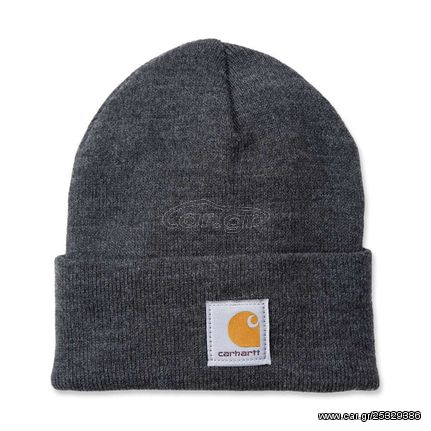 ΣΚΟΥΦΟΣ Carhartt Rib knit beanie Watch, coal heather
