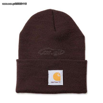 ΣΚΟΥΦΟΣ Carhartt Rib knit beanie Watch, dark brown