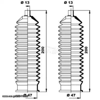 Φούσκες κρεμαγιέρας MOOG K150193