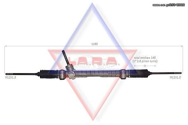 Κρεμαγιέρα, ατέρμονας και αντλία Υ.Τ. LARA 290006