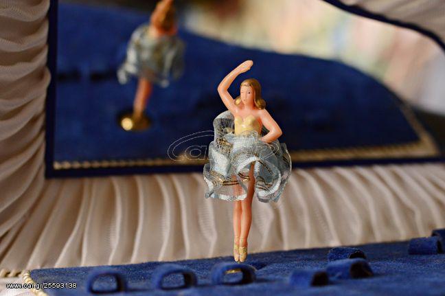 Μουσικό κουτί - Κοσμηματοθήκη - Μπαλαρίνα που χορεύει Swiss Made Y: 60s