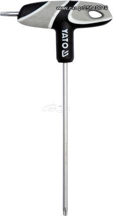 Κλειδί Υποδοχής Torx με Λαβή Τ20 130mm YATO YT-05605