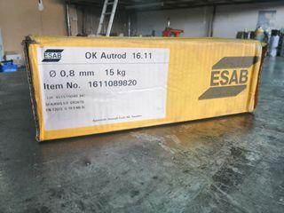 Κουλούρα σύρματος inox διαμέτρου 0,8 χιλιοστών 15 kgr