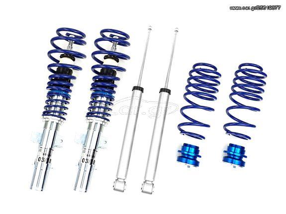 Ρυθμιζόμενη ανάρτηση καθ'ύψος JOM BlueLine Volkswagen Fox 5Z 05- 1.2 / 1.4 / 1.4TDI - (741072)