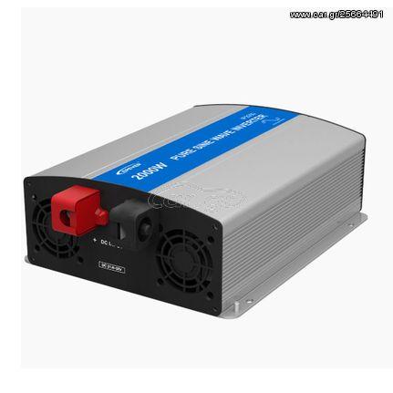 Inverter-μετατροπέας τάσης IP-2000-24 EPSOLAR 24V 2000VA καθαρού ημιτόνου | 03.01.0077