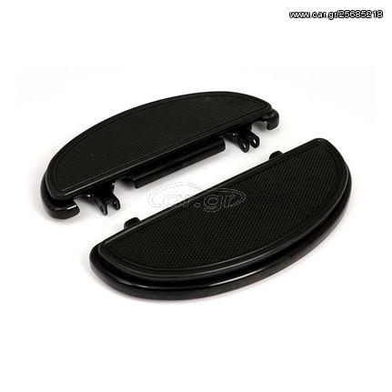 ΠΑΝΤΟΦΛΕΣ OVAL FLOORBOARDS, KNURLED RIBBED PADS-Touring/FLST models/12-16 Dyna FLD-