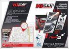 H4 Led System X3 1860 SMD 9-32V 2τμχ-thumb-1