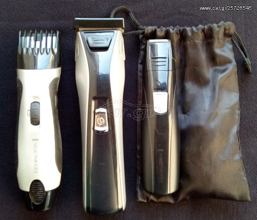 Remington trimmer grooming