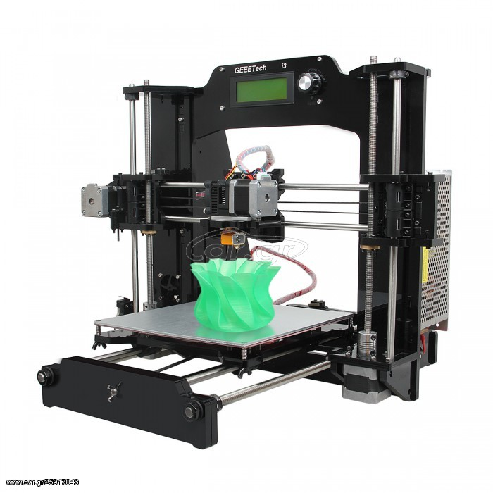 3D Printer PRUSA I3X με αλουμινενια θερμαινομενη βαση