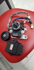 Σέτ κλειδαριές κλειδιά εγκέφαλος immobilizer απο T MAX 500 2008++