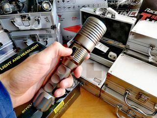 Tong Ming TM - T620 LED T6 Φακοί, Ηλεκτρική Αυτόματη Εστίαση, 800LM, 10W, Καινούριοι, Εγγύηση!