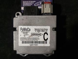 AB39-14B321-CF DE2NB Restrains Control Module Ford Ranger 2014 Εγκέφαλος Αερόσακου