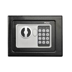 Χρηματοκιβώτιο ασφαλείας ηλεκτρονικό Primo 2 τρόπους ανοίγματος με κλειδί & πληκτρολόγιο 170x230x170mm | 500014