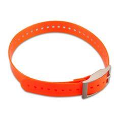 Garmin Orange 1 inch Collar Strap Replacement for DC/TT15/T5