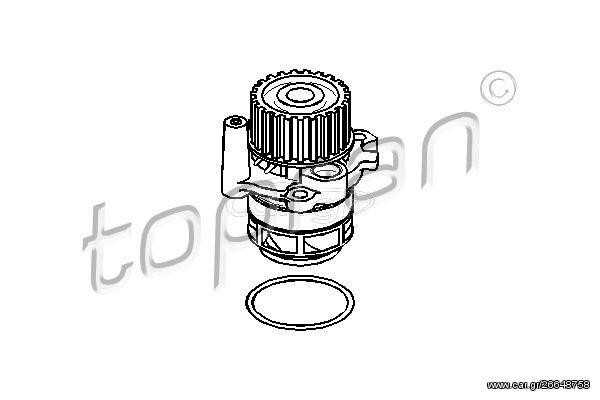 ΑΝΤΛΙΑ ΝΕΡΟΥ AUDI A3/A4/A6/SKODA OCTAVIA/VW GOLF V/VI 03- JOPEX 1114105800