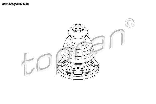 ΦΥΣΟΥΝΑ ΗΜΙΑΞΟΝΙΟΥ AUDI/VW TRANSPORTER IV (108mm)(ΜΕ ΛΑΜΑΡΙΝΑ) HANS 103660