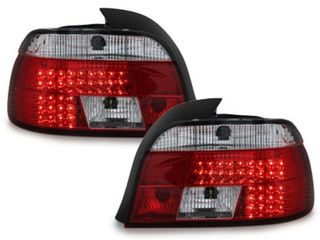 ΦΑΝΑΡΙΑ ΠΙΣΩ LED BMW 5 Series E39 1995-2003 Red/Crystal Clear