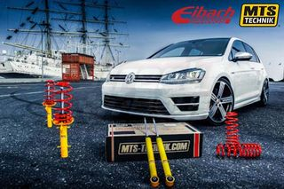 VW GOLF 7 [MTS-TECHNIK] COILOVER KIT - ΡΥΘΜΙΖΟΜΕΝΗ ΑΝΑΡΤΗΣΗ ΚΑΘ'ΥΨΟΣ | ® STREETBOYS - CAR TUNING SHOP