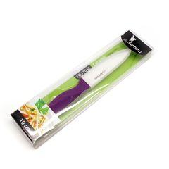 Κεραμικό μαχαίρι κουζινας  LF FR-1705C, 13 εκ., Μωβ