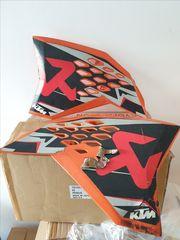 Καπάκια ψυγείου KTM SX/EXC akrapovic