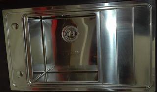 Νεροχύτης κουζίνας PYRAMIS 86X50, 1 γούρνα-ανοξείδωτος λείος
