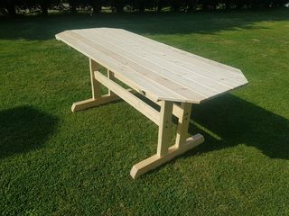 Χειροποίητο τραπέζι ξυλινο  180×80×76