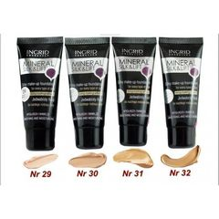 Ingrid Cosmetics Mineral Silk& Lift Silky Make-Up Foundaction For Every Type Of Skin Long-Lasting Effect 31 Ingrid