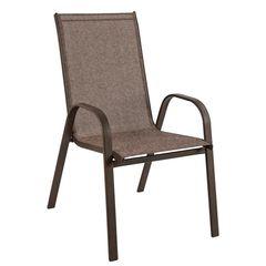 Πολυθρόνα μεταλλική καφέ 0614409