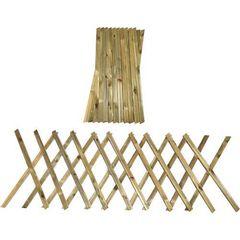 Φράχτης κήπου πτυσσόμενος - 260x120cm-Tesias Wooden Products