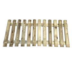 Φράχτης κήπου σταθερός - 180x60cm-Tesias Wooden Products