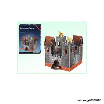 3D Puzzle ANELIXI Fantasy Castle 3 (6+) 40877-R