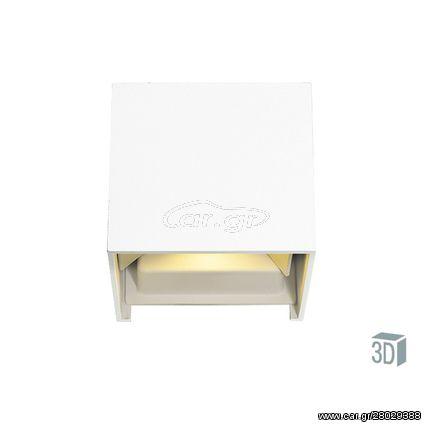 Απλίκα Λευκή Sq Greg 4188800  VIOKEF