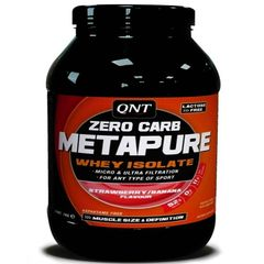 QNT Metapure Zero Carb 2kg-Banana - Strawberry