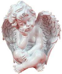 Αγγελάκι Διακοσμητικό 11,5Χ7,5Χ10,5cm ART. 56861 WELKHOME