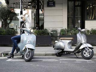 Μοτοσυκλέτα αμαξίδιο ηλεκτρικό '20 Retro vintage e scooter 2000w