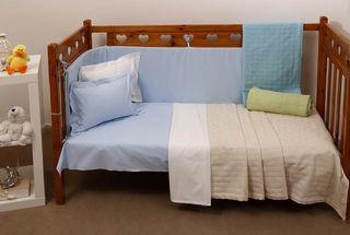Κουβέρτα Πλεκτή Κούνιας Michelle Unicolour Blankets Dominic Cotton Anna Riska (110x140) 1Τεμ - BEIGE