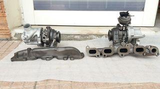 2X Turbo τουρμπίνα 1.6 TDI  04L253016H Audi VW Seat skoda A3 8V Q2 GA LEON 5F OCTAVIA III 5E GOLF 7 5G TOURAN