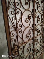 Πόρτα σιδερένια μασιφ