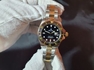 Rolex sea dweller two tone.  Ανδρικο ρολοι κορυφαιας ποιοτητα replica 3Α.